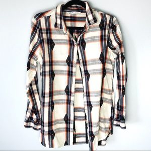 Woolrich Women's Plaid Button Down